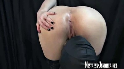Mistress, Spanked, Ruined orgasm, Ruined, Many, Femdom spanking