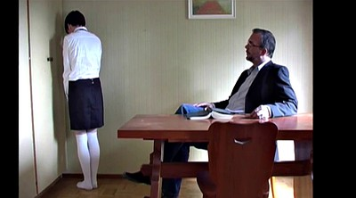 Old teacher, Teacher spanking