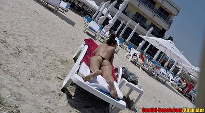 Big ass, Bikini, Beach voyeur, Beach ass