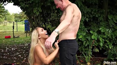Grandpa, Pussy cum, Young pussy, Young boobs, Young big boobs, Grandpas