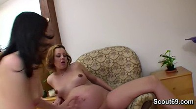Step daughter, Young old, Pregnant fuck