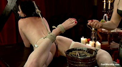 Torture, Foot femdom, Foot slave, Worship, Mistress foot, Lesbian slave