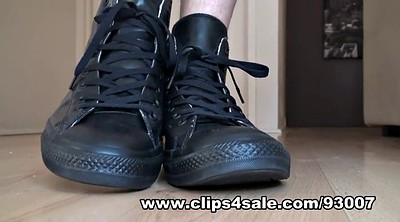 Latex, Sneaker, Latex fetish, Anal foot, Latex anal