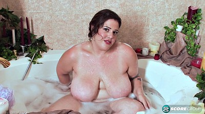 Shower, Bbw solo, Fat solo, Solo shower