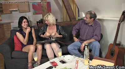 Old granny, Old couple, Mature threesome, Young mature, Sons gf, Couple threesome