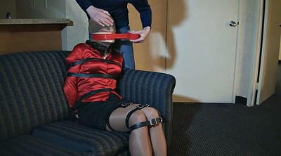 Bondage, Crossdressers, Gagging