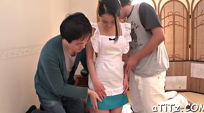 Japanese tits, Japanese fingering, Asian blowjob
