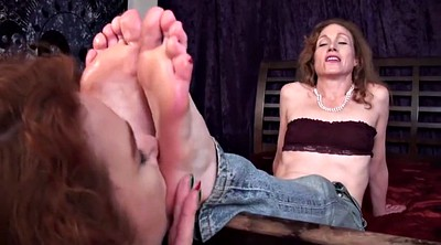 Aunt, Lesbian feet worship, Mature foot, Mature feet, Old foot, Old feet