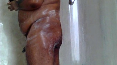 Bear, Hairy shower, Black gay