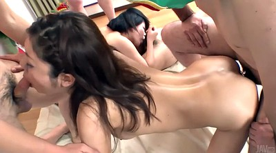 Japanese group, Japanese pantyhose, Asian group, Japanese swallow, Japanese two cock, Two japanese