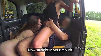 Taxi, Amateur threesome