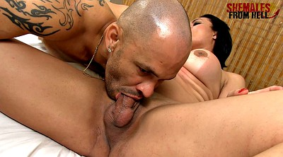 Bisexual, Tranny big cock, Chubby shemale