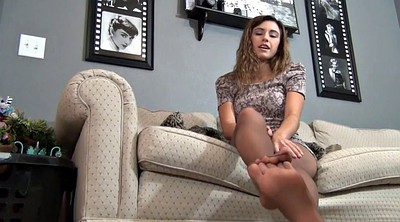 Teen foot, Pantyhose fetish, Foot tease, Pantyhose tease