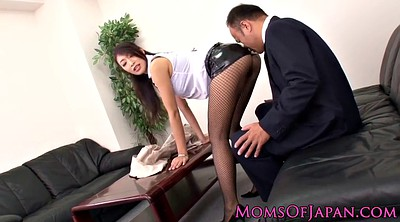 Japanese young, Japanese office, Hairy mature