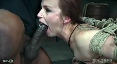 Interracial bdsm, Rope