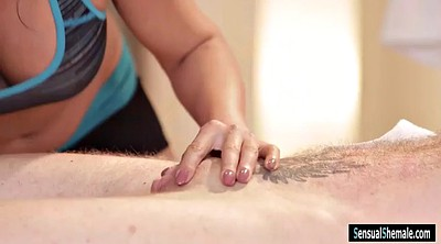 Man, Tory, Brunette, Shemale massage, Massage shemale