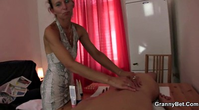 Massage, Old and young, Old mature