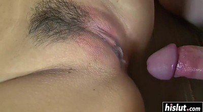 Footjob, Asian footjob, Teen creampie