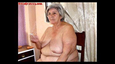 Hairy, Hairy granny, Picture, Chubby granny