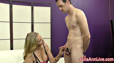 Julia ann, Foot slave, Ann, Feet slave, Milf feet, Julia ann foot