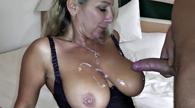 Teen boy, German milf