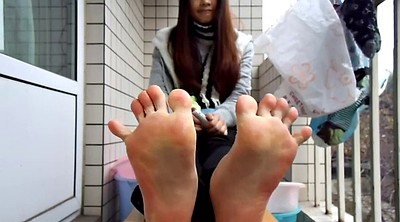 Chinese foot, Chinese teen, Asian foot, Chinese feet, Asian feet, Chinese p