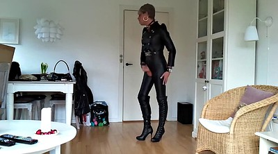 Leather, Sexy, Outfit