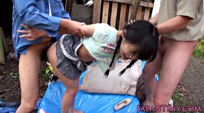 Japanese outdoor, Japanese threesome, Japanese outdoors