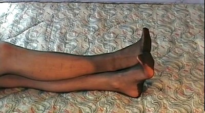 Stockings, Stockings feet, Black stocking, Footing