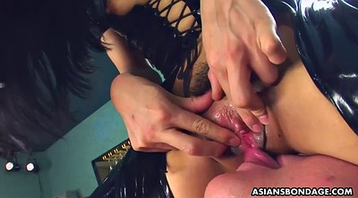 Latex, Japanese bdsm, Asian bdsm, Shaking orgasm, Japanese pee, Japanese big ass