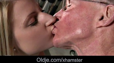 Young girls, Old grandpa, Old pussy
