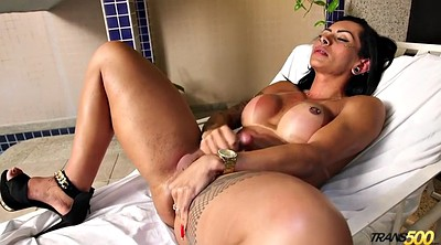 Pierced, Brazilian sex, Dildo shemale