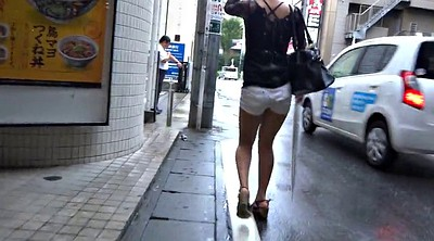 Walk, Japanese leg, Japanese sexy, Asian voyeur