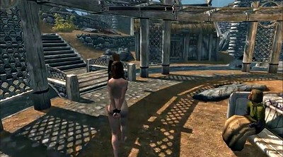 Cartoon, Spanks, Slavegirl, Skyrim