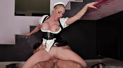 Reverse cowgirl, Maid