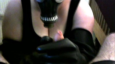 Gloves, Mask, Glove handjob