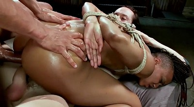 Rope, Interracial anal