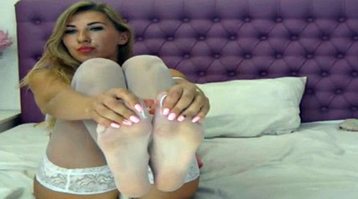 Foot fetish, Stockings, Stockings foot, Nylon foot, White stockings, White nylon