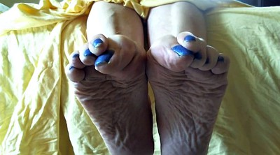 Mature feet, Mature foot, Soles feet