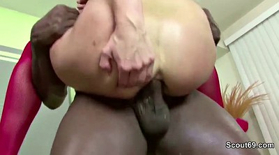 First time, Teen interracial, Anal monster