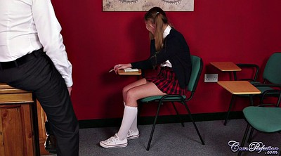 Teacher, Young schoolgirl