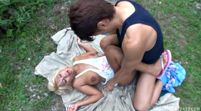Japanese blowjob, Japanese outdoor