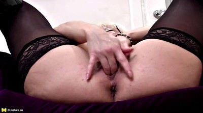 Finger, Real mother, Mature amateur
