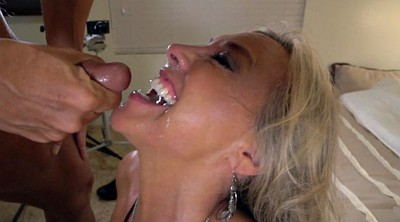 Cum swallow, Wife swallows