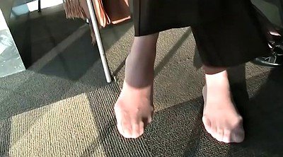 Nylon, Nylon feet, Nylon foot, Feet nylon, Nylons feet, Library