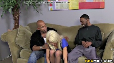 Squirt, Black on blond, Bbc blond, Erica, Blond bbc