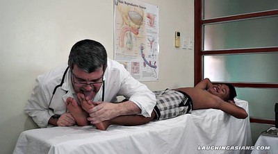 Feet, Tickle, Asian feet, Tickling, Asian gay, Gay doctor