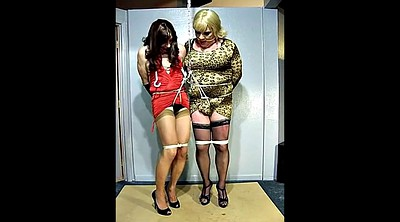 Crossdresser, Gay bondage, Bondage crossdresser