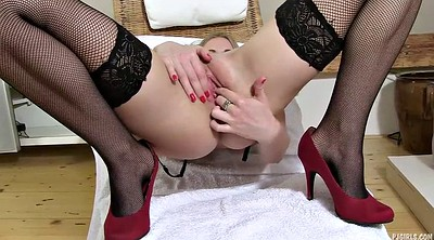 High heels, Gaping pussy