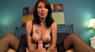 Mommy, Mature boy, Mature handjob